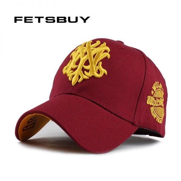 FETSBUY 1Piece Baseball Cap Men Fitted Adjustable Casquette leisure hats men's Snapback Gorras accessories Baseball Caps 1