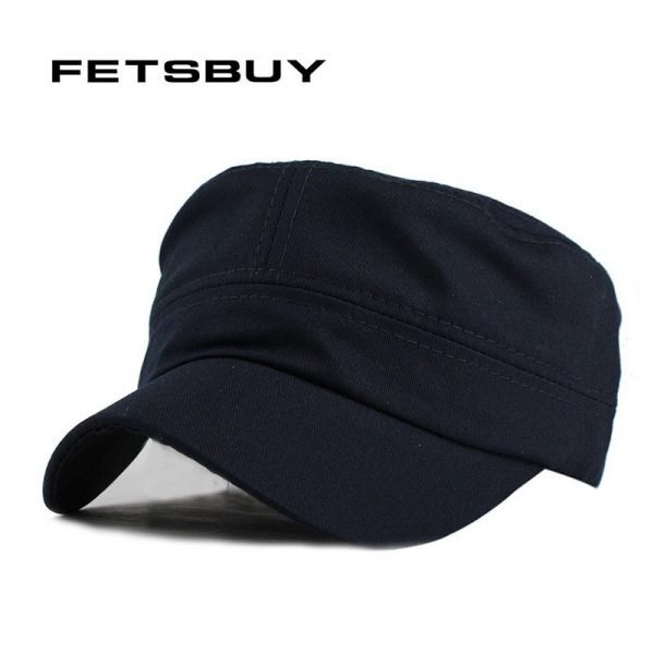 FETSBUY Adult Gorras High quality Washed Cotton Adjustable Solid Color Military Hat Unisex German Army Caps Baseball Hats 2