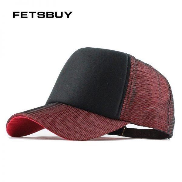 FETSBUY Baseball Caps wholesale Fitted Adjustable Cap Trucker Vintage Casquette Lightning Women Men Gorras Hip-Hop Hat f154 1