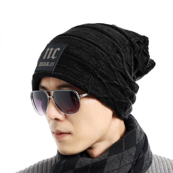 FETSBUY Brand Beanies Knit Men'S Winter Hat Caps Thick Skullies Bonnet Hats For Men Women Beanie Female Warm Baggy Knitted Hat 4