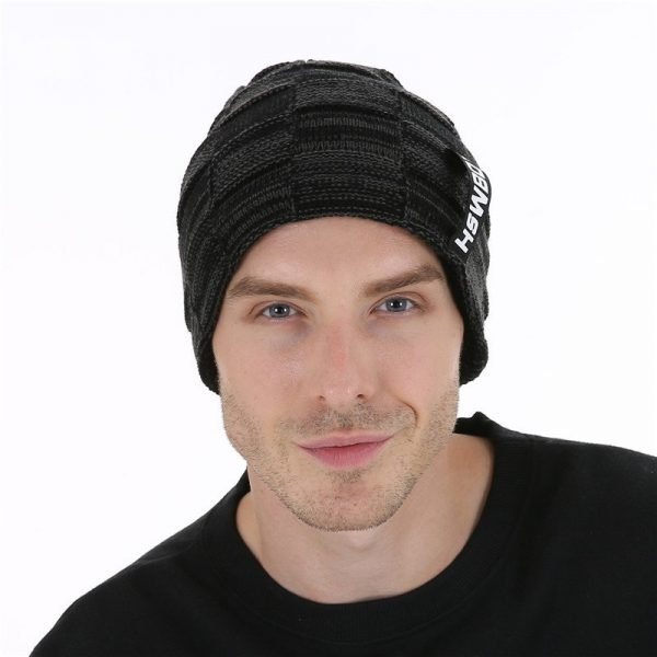 FETSBUY Brand New Autumn Cap And Warmer Winter Bonnets Beanie Hat For Men Women Skullies Keep Warm Velvet Caps Bonnet Hats 19002 6