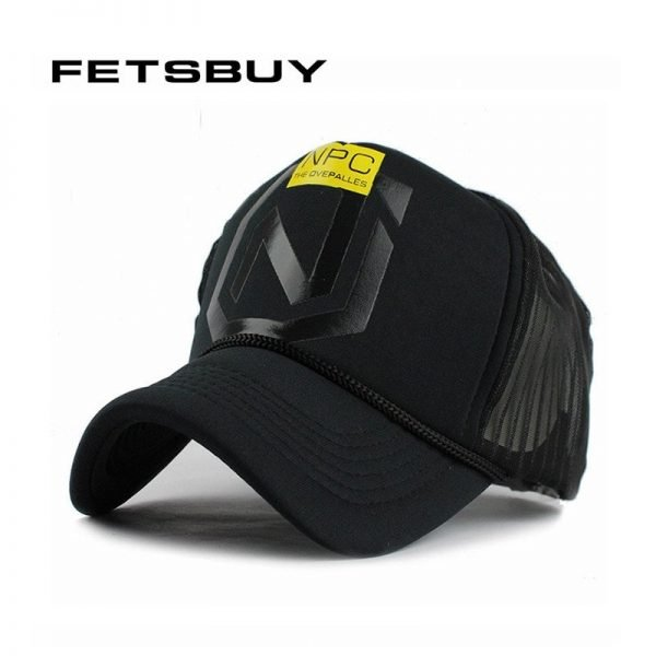FETSBUY Summer Breathe Freely Mesh Baseball Cap Trucker Cap Fitted Men Casquette Hats For Women Bone Cap 2017 Wholesale 2