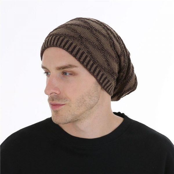 FETSBUY Unisex Bonnet Beanies Autumn And Winter Hat Skullies Hats For Men Women Add Velvet Warm Casual Beanie Gorros Muts #19008 4
