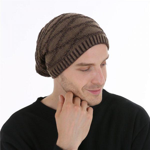 FETSBUY Unisex Bonnet Beanies Autumn And Winter Hat Skullies Hats For Men Women Add Velvet Warm Casual Beanie Gorros Muts #19008 8