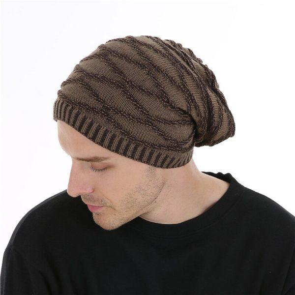 FETSBUY Unisex Bonnet Beanies Autumn And Winter Hat Skullies Hats For Men Women Add Velvet Warm Casual Beanie Gorros Muts #19008 10