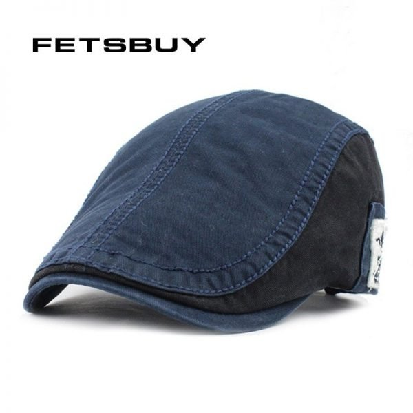 FETSBUY Wholesale Fashion Beret Hat Casquette Cap Cotton Hats For Men Women Visors Sun Hat Gorras Planas Flat Caps Adjustable 2