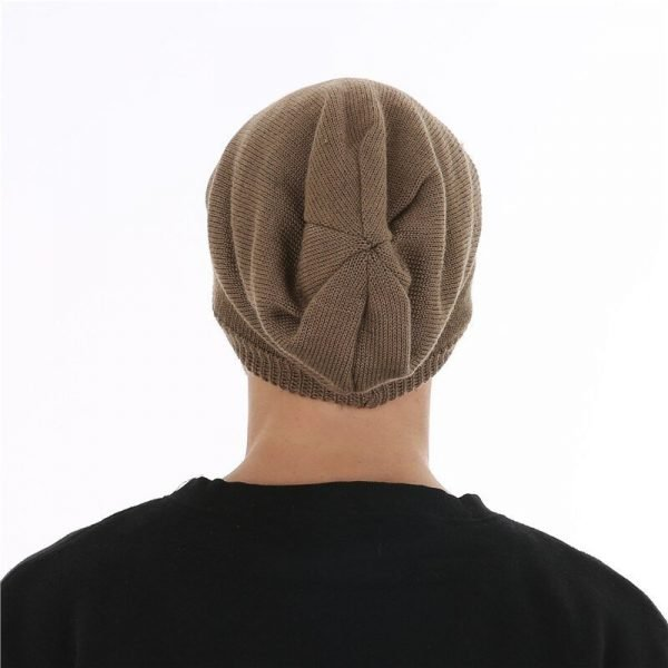 FETSBUY Winter Unisex Knitted Wool Beanies Hat women Knit Colorful Striped Hip Hop Bonnet Cap Men Casual Add Velvet Muts #19003 12