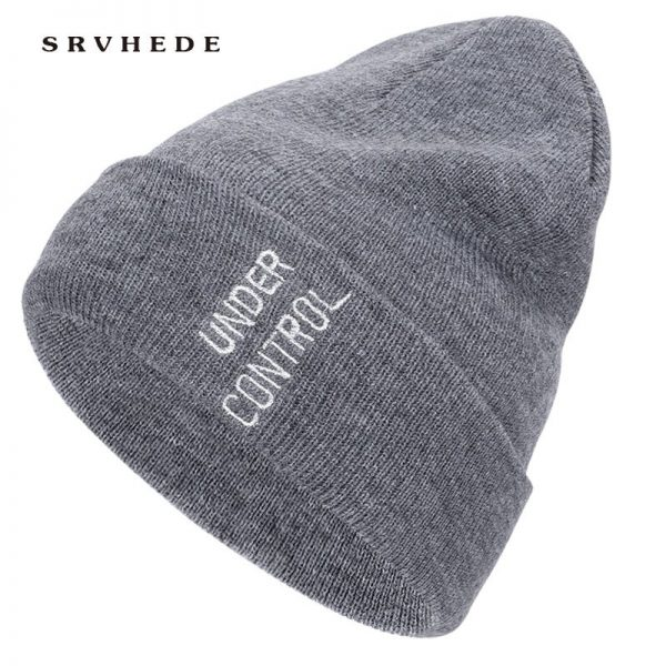 Fashion  Winter Hats for Woman  Casual Beanies for Men Women Warm Knitted Winter Hat Fashion Solid Hip-hop Beanie Hat Unisex Cap 10