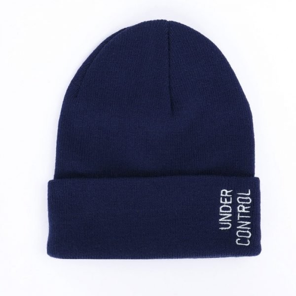 Fashion  Winter Hats for Woman  Casual Beanies for Men Women Warm Knitted Winter Hat Fashion Solid Hip-hop Beanie Hat Unisex Cap 12
