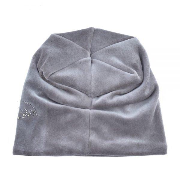 Women's Fashion Rhinestone Flower Hat Scarf Winter Warm Beanies Scarves Set For Girls Thick Velvet Bonnet Femme Skullies Caps 8