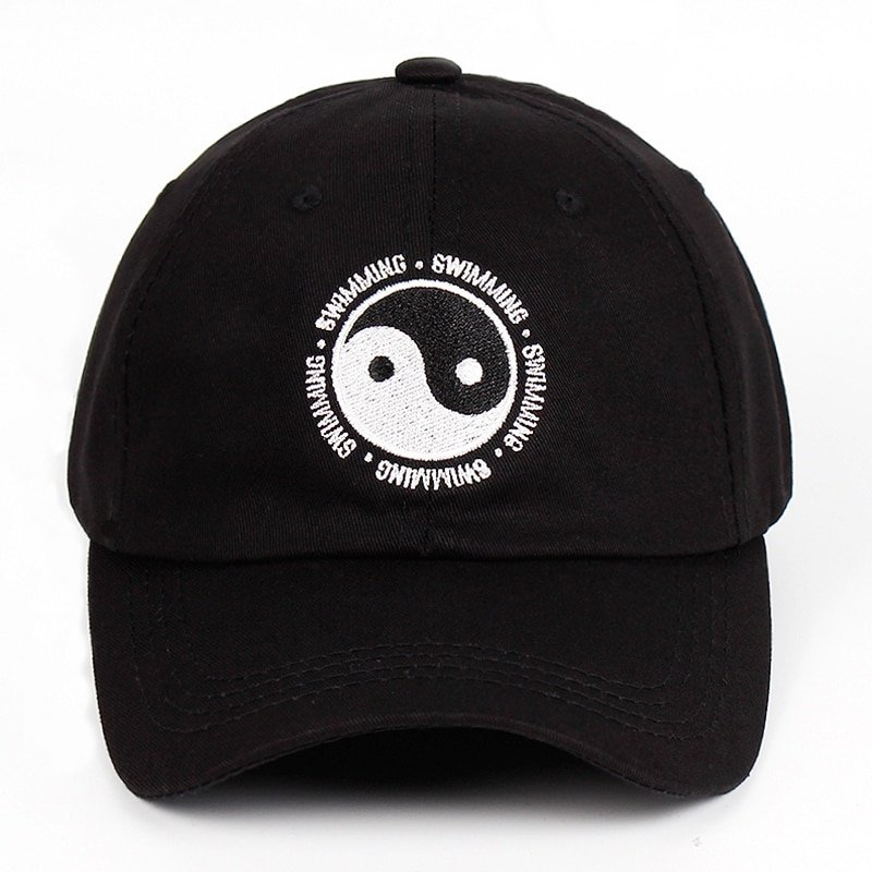 Mac Miller Dad Hat 100% Cotton Swimming Yin and Yang Gossip Embroidered Hat Snapback Baseball Cap For Men And Women Dropship 3