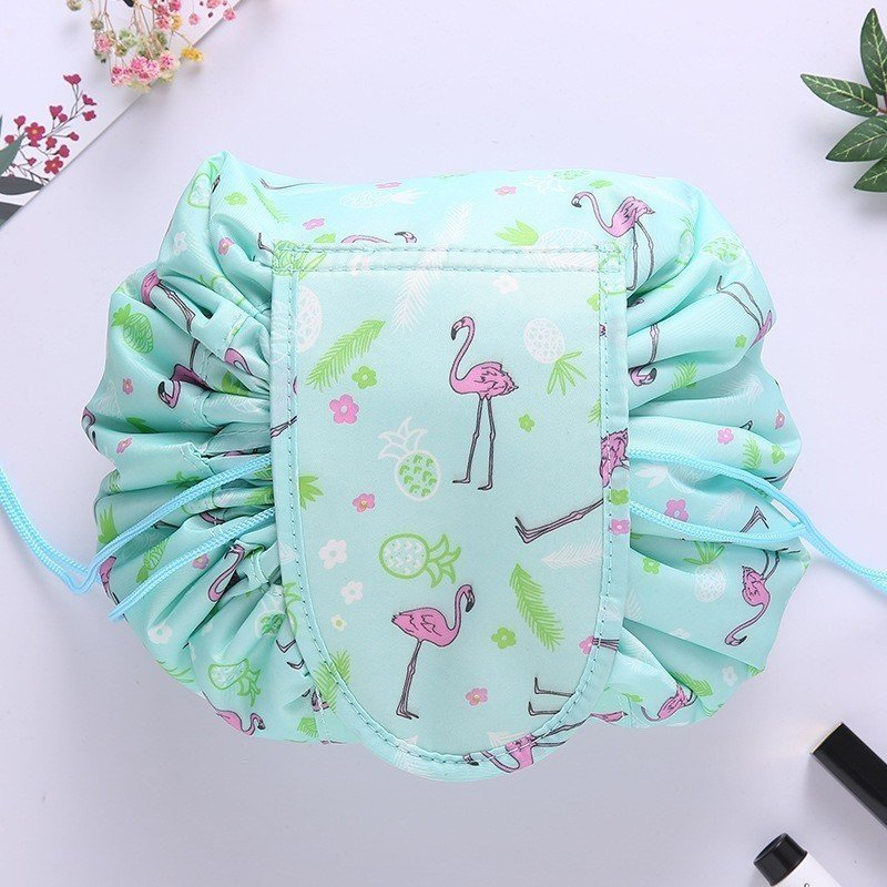 CAP SHOP Women Drawstring Travel Cosmetic Bag Makeup Bag Organizer Make Cosmetic Bag Case Storage Pouch Toiletry Beauty Kit Box COLOR LIPSTICK 11