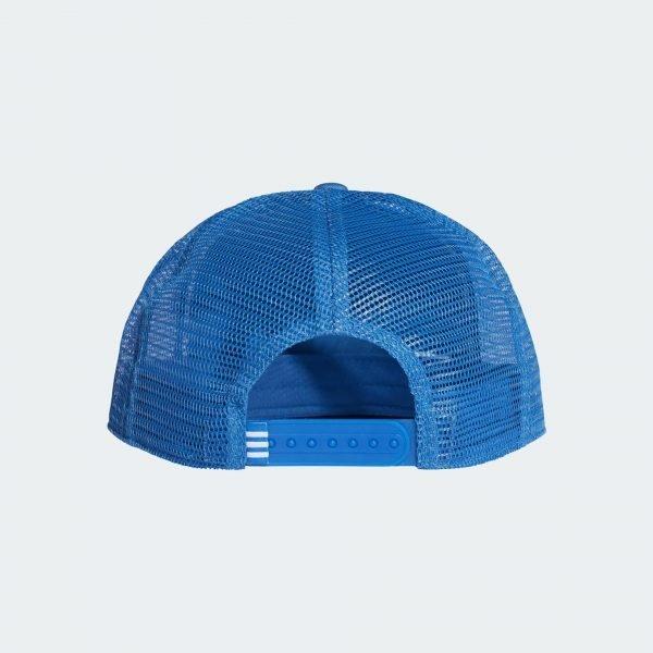 Adidas Originals TREFOIL TRUCKER BASEBALL CAP Color BLUE Sale | FREE FAST SHIPPING | ADIDAS 2020 2
