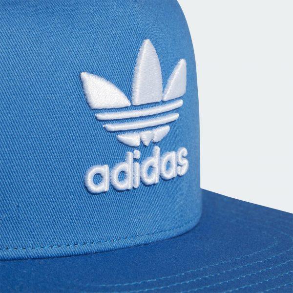Adidas Originals TREFOIL TRUCKER BASEBALL CAP Color BLUE Sale | FREE FAST SHIPPING | ADIDAS 2020 6