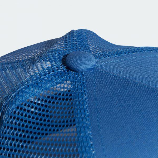Adidas Originals TREFOIL TRUCKER BASEBALL CAP Color BLUE Sale | FREE FAST SHIPPING | ADIDAS 2020 4