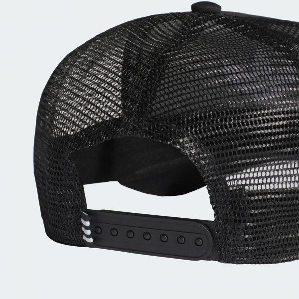 Adidas Originals TREFOIL TRUCKER BASEBALL CAP Color Black Sale | FREE FAST SHIPPING | ADIDAS 2020 2