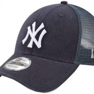 New Era New York Yankees Trucker Hat Adjustable Mesh Navy Blue Hat