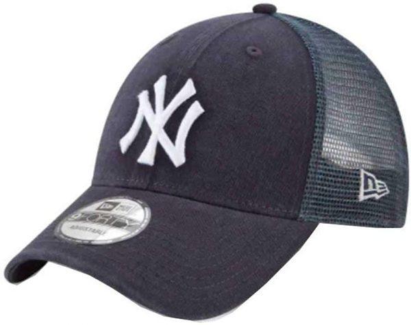 New Era New York Yankees Trucker Hat Adjustable Mesh Navy Blue Hat