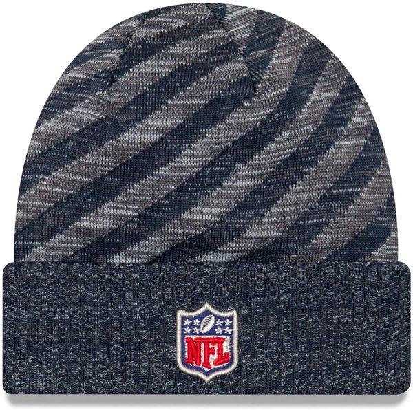 New Era 2018 NFL Seattle Seahawks Touchdown Tech Stocking Knit Hat Winter Beanie