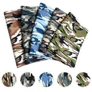 100*145cm Camouflage Printed Cotton Cloth Poplin Fabric Stitched Fabric Cotton Used For Clothing Sewing Patchwork DIY Crafts