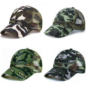 3-9 Yrs Outdoor Camouflage Baby Boy Mesh Baseball Cap Kids Cap Summer Autumn For Boys Girl Caps Net Casual Caps Kids Hats