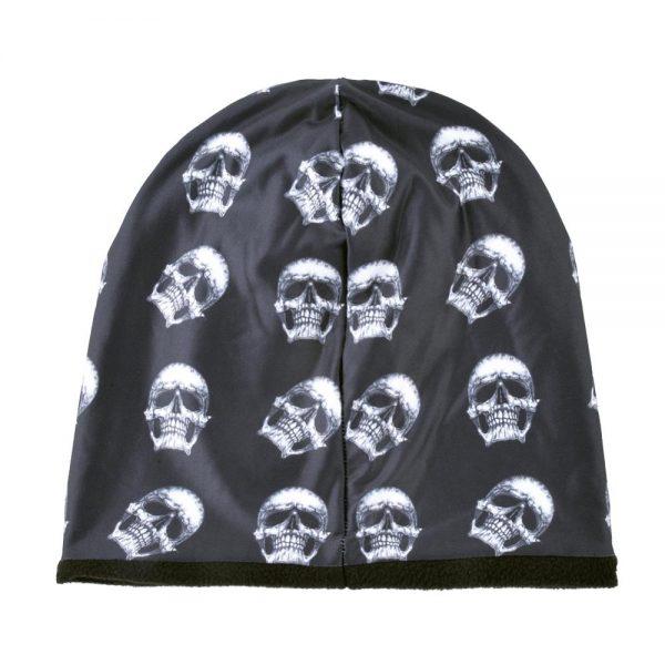 3D stereoscopic Skull hat Men Beanies Plus velvet Warm cap Unisex Bone Outdoor ski hat Winter hats for women Hip Hop caps Gorros
