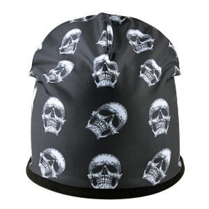 3D stereoscopic Skull hat Men Beanies Plus velvet Warm cap Unisex Bone Outdoor ski hat Winter hats for women Hip Hop caps Gorros