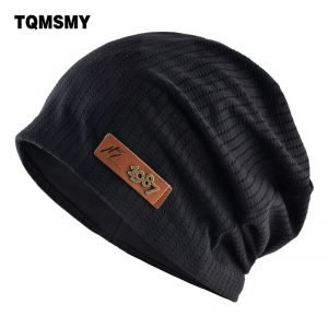 Fashion Metal logo hats Hat For men winter beanies Soft Turban hat Casual Unisex Hip Hop caps men Autumn Ski cap Bonnet gorros
