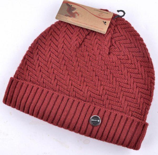 Winter hats for men bilayer knitted wool cap plus velvet thicker women hat beanies for autumn men bad hair day bonnet gorros