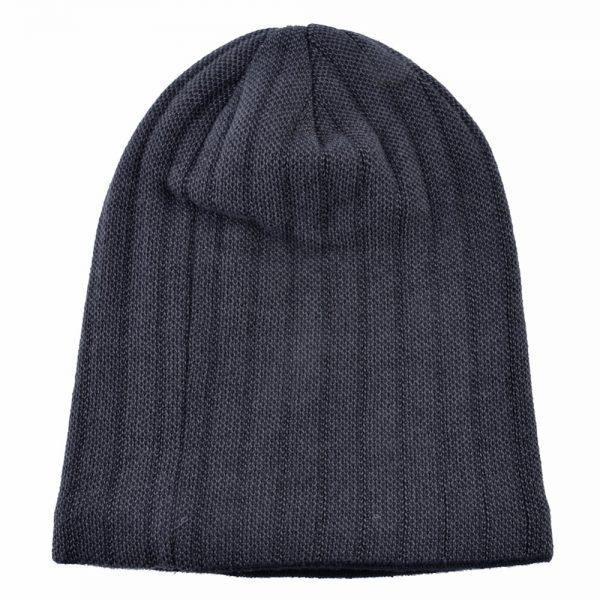 Minimalist Men's Winter Beanies Knitted wool Skullies man Hip Hop cap autumn gorros Plus velvet keep warm hats for men Bonnet
