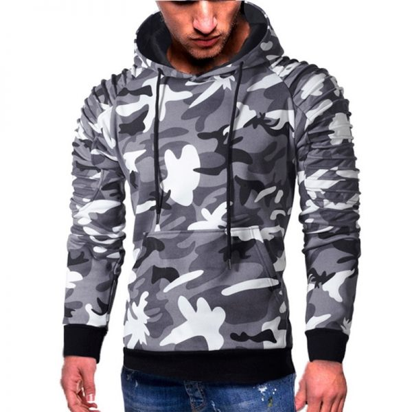 Fashion Camoflauge Hoodies Sweatshirts Military Camo Hoodies Pullovers Casual Hip Hop Oversized Streetwear Hoody