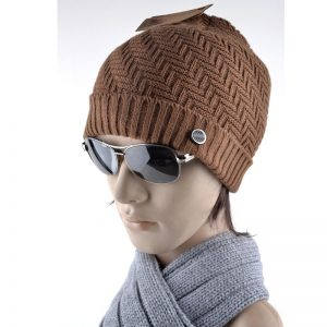 Winter hats for men bilayer knitted wool cap plus velvet thicker women hat beanies for autumn men bad hair day bonnet gorros