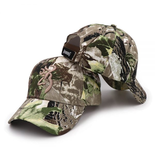 CAPSHOP 2020 New Camo Baseball Cap Fishing Caps Men Outdoor Hunting Camouflage Jungle Hat Airsoft Tactical Hiking Casquette Hats