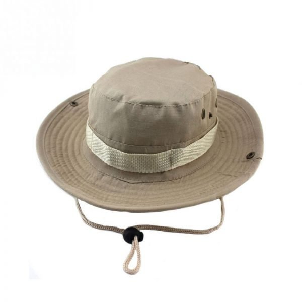 2020/21 Military Panama Boonie Sun Hats Cap Summer Men Women Camouflage Bucket Hat With String Fisherman Cap