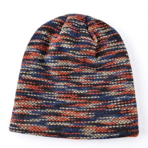 TQMSMY Lengthened skullies knitted wool hat Men's winter cap Keep warm beanies men bonnet plus velvet hats for women bone gorro