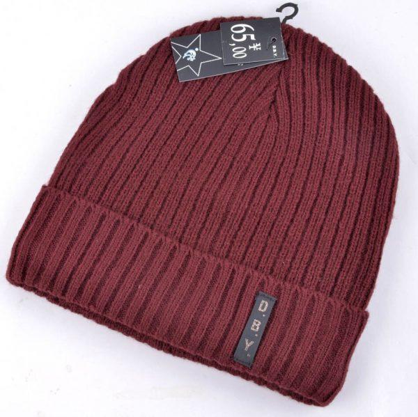 Winter hats for men double knitted warm beanies women Casual hip-hop cap plus velvet mask caps for women hat bad hair day
