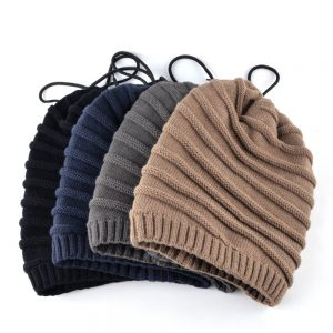 TQMSMY Casual Winter hats for men knitted wool beanies warm Masks cap men's Scarf dual purpose Bone Balaclava Skullies gorros