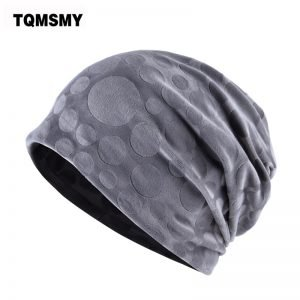 TQMSMY Brand bone flannel hat women winter beanies girls double layer turban hats scarf dual-use caps for women's autumn gorros