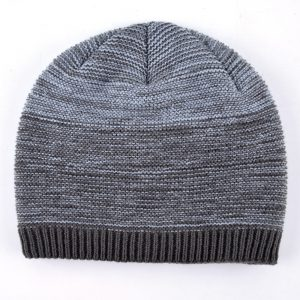 Minimalist Men's Winter Beanies Knitted wool Skullies boys Hip Hop cap autumn gorros man keep warm soft hats for men Bonnet