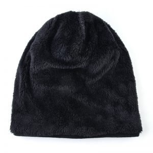Double velvet skullies knitted wool hat Men's winter cap Keep warm beanies men bonnet plus velvet hats for women bone gorro
