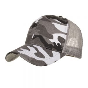 Camouflage Ponytail Baseball Cap 2020 Messy Bun Hats For Women Men Snapback Caps Casual Summer Sun Visor Outdoor Hat Gorras Casquette