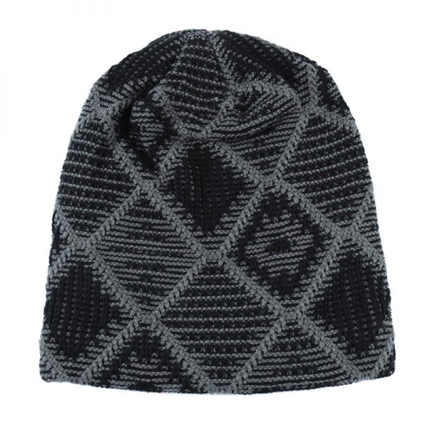 New Style Winter hats for men Knitted wool Beanies plus velvet Warm Cap bonnet Gorros Hip hop Caps For Men Woman's Turban hat