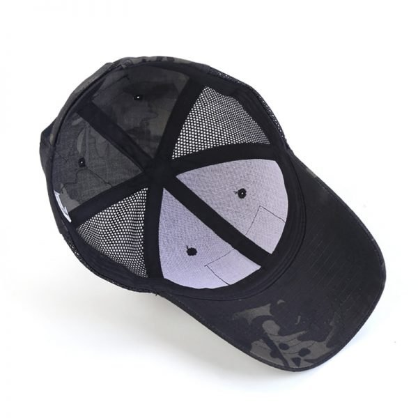 Hunting Mesh Cap Tactical Army Hat Sport Snapback Stripe Military Cap Camouflage Hat Simplicity Army Camo Cap