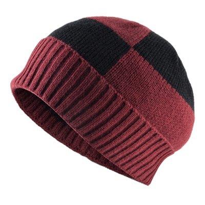 Winter Beanies Solid Color Hat men Knitted Warm Soft Beanie Double layer plus thick velvet Cap bonnet Gorro Caps For Men Women