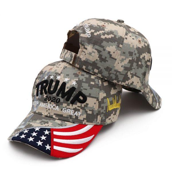 New Donald Trump 2020 Cap USA Baseball Caps Keep America Great Snapback President Hat 3D Embroidery Wholesale Hats 24
