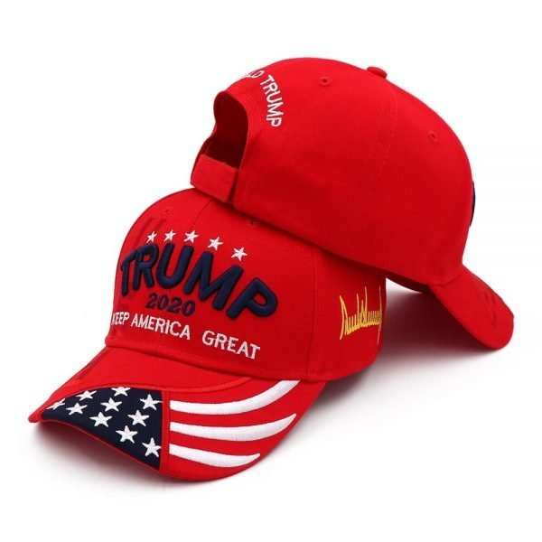 New Donald Trump 2020 Cap USA Baseball Caps Keep America Great Snapback President Hat 3D Embroidery Wholesale Hats 16