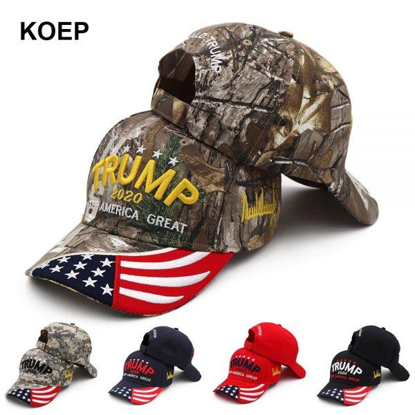 New Donald Trump 2020 Cap USA Baseball Caps Keep America Great Snapback President Hat 3D Embroidery Wholesale Hats 14
