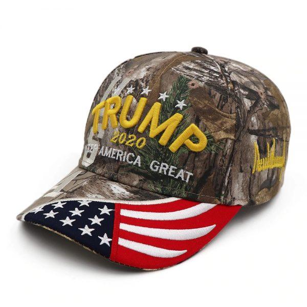 New Donald Trump 2020 Cap USA Baseball Caps Keep America Great Snapback President Hat 3D Embroidery Wholesale Hats 12