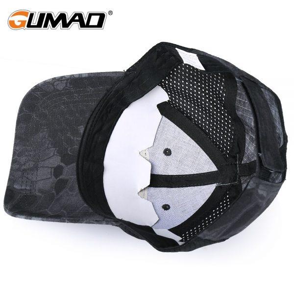 Skull Tactical Military Airsoft Cap Adjustable Breathable Sun Visor Trucker Hat Mesh Hunting Hiking Baseball Skeleton Snapback