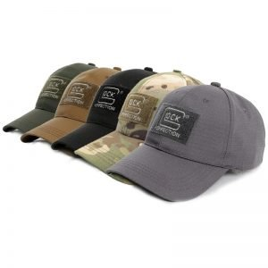 Glock Shooting Hunting Baseball Cap fashion Cotton outdoor Glock Hats Cool Man/women Hat ALM-012
